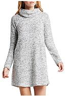 BCBGeneration Cowl Neck Sweater Dress