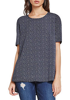 BCBGeneration Rainbow Dot Tunic Tee