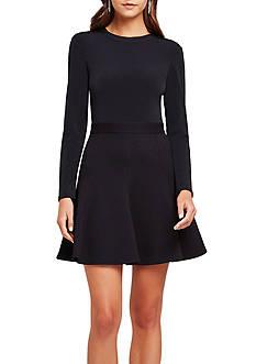 BCBGeneration City Knit Flare Skirt Dress