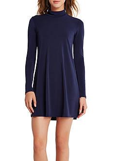 BCBGeneration Turtleneck A-Line Dress