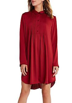 BCBGeneration Pintuck Woven Dress