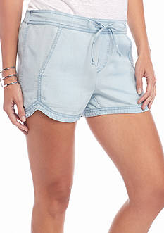 Splendid Chambray Dolphin Shorts