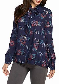 Splendid Cindelle Floral Print Top