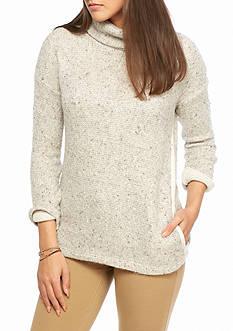Splendid Double Face Cowl Neck Sweater