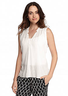 Splendid Sleeveless Solid Blouse