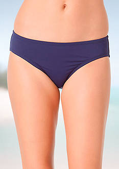 Anne Cole Signature® Solid Mid-Rise Swim Bottom