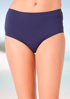 Anne Cole Signature® Solid High-Waist Swim Bottom