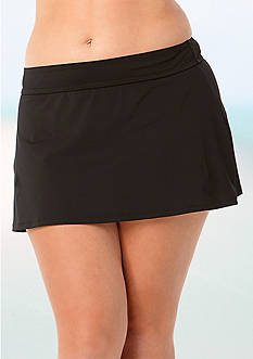 Anne Cole Signature® Plus Size Swim Skirt