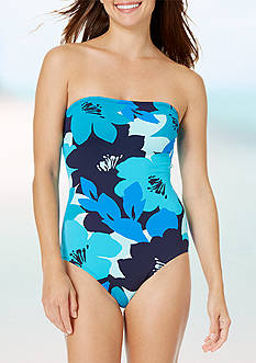 Anne Cole Signature® Full Bloom Bandeau One Piece