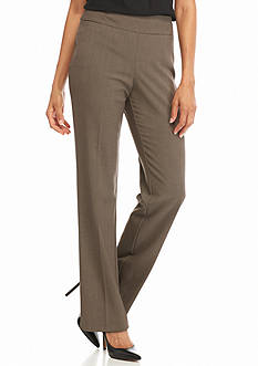 Kim Rogers Flat Front Pull-Open Fashion Solid