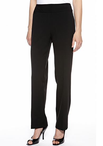 Kim Rogers® Flat Front Pull-On Pant