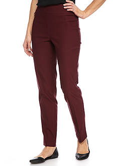Kim Rogers® Luxe Super Stretch Pullover Pants with Hardware