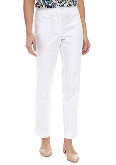 Kim Rogers Power Super Stretch Zip Front Ankle Pant