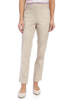 Kim Rogers® Power Super Stretch Zip Front Ankle Pant