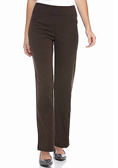 Kim Rogers® Ponte Pant with Rivet