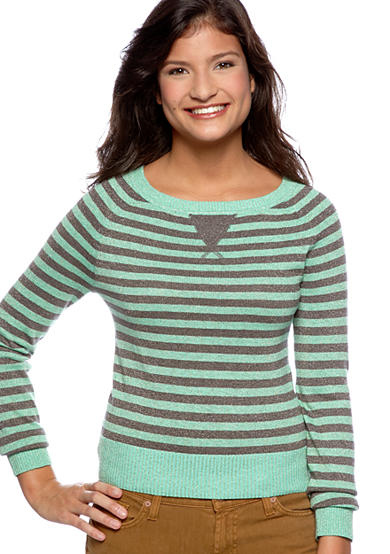 Heart N Crush Stripe Sweater
