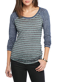 Threads 4 Thought Delvin Stripe Baseball Tee