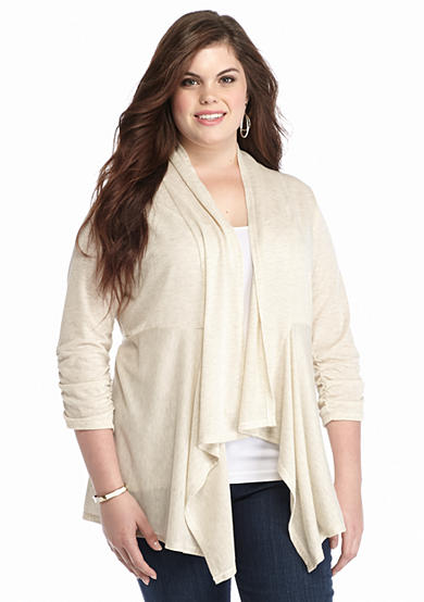 Living Doll Plus Size Super Soft Cozy Sweater Belk