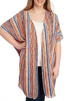 Living Doll Plus Size Woven Duster