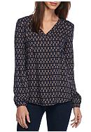 Jack by BB Dakota Miten Print Blouse