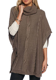 Jack by BB Dakota Keandre Cable Knit Poncho
