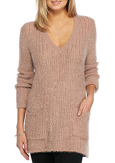 Jack by BB Dakota Aristella Eyelash V Neck Tunic