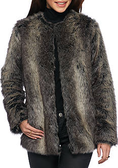 Jack by BB Dakota Caddy Faux Fur Coat