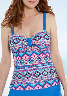 Beach Diva Bonita Vida Babydoll Tankini