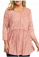 New Directions® Weekend Plus Size Babydoll