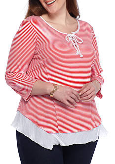 New Directions Weekend Plus Size Weekend Tunic