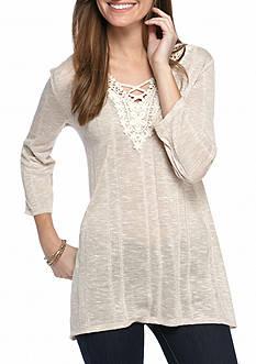 Kim Rogers Lace Haccci Crochet Top