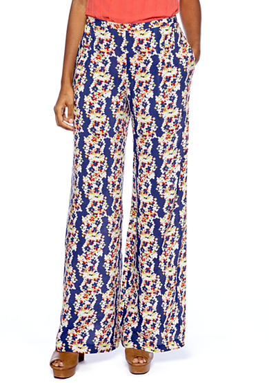 Jessica Simpson Palazzo Floral Print Pant