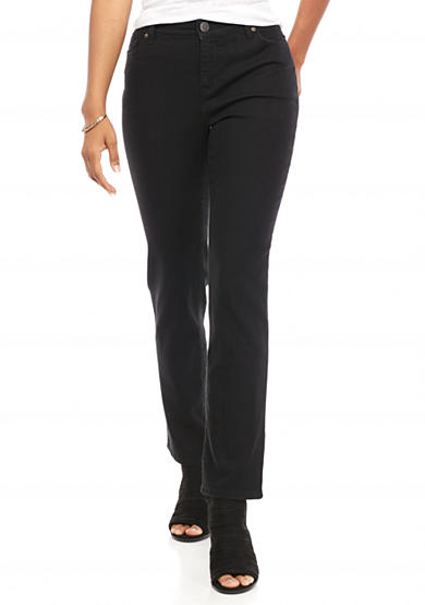 New Directions® Weekend Petite Slim Straight Jean