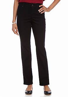 New Directions Weekend Slim Straight Leg Jean