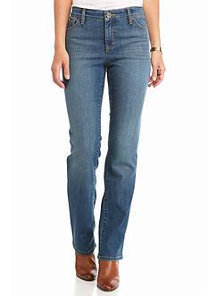 New Directions Weekend Slim Straight Leg Jean