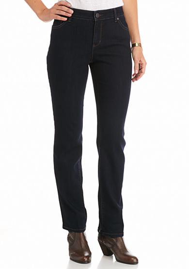 New Directions® Weekend Slim Straight Leg Jean