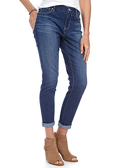 New Directions® Weekend Roll Cuff Jean Ankle Pants