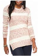 Pink Rose Promo Striped Sweater