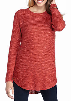 Pink Rose Promo Textured Sweater