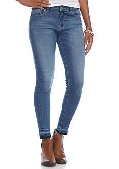 Celebrity Pink Released Hem Skinny Jeans