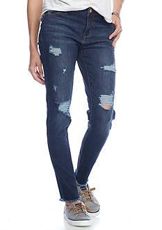 Celebrity Pink Ankle Skinny Pocket Jeans