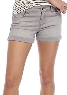 Celebrity Pink 3-in. Roll Cuff Shorts