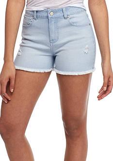 Celebrity Pink Fray Hem Shorts