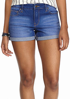 Celebrity Pink Denim Roll Cuff Short