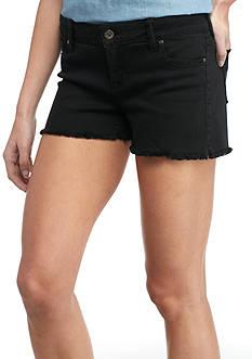 Celebrity Pink Destructed Fray Hem Shorts