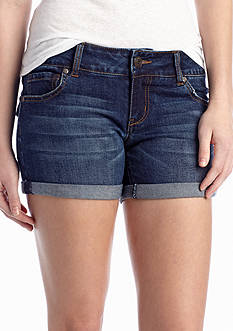 Celebrity Pink Roll Cuff Jean Shorts