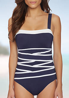 Nautica Soft Cup One Piece Swimsuit