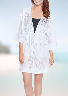 Dotti Gypsy Dance Tunic Swim Cover Up