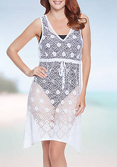 Dotti Diamond Dream Handkerchief Dress Swim Cover Up