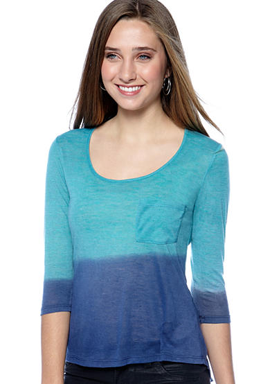 Red Camel® Three-Quarter Sleeve Top